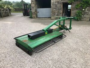 #B1261 LSM 8 foot fully offset pasture topper. Hydraulic folding. Abbey Conor