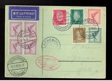 1930 Germany Graf Zeppelin Cover to Lachen Pfalz