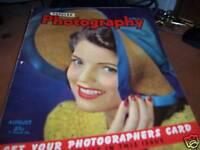 Popular Photography Magazine Aug 1942