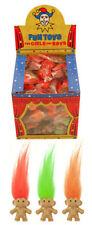 50x Mini Trolls Geat Retro Party Bag Fillers Loot Bags Lucky Dips Tombola Gift