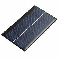 2Pcs Mini 6V 1W Solar Panel Solar System DIY For Cell Phone Toys Chargers