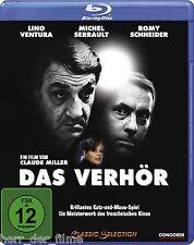 DAS VERHÖR (Lino Ventura, Michel Serrault, Romy Schneider) Blu-ray Disc NEU+OVP