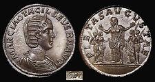 Otacilia Severa Wife of Philip I 32.4gm./36mm.Double Sestertius