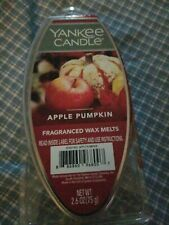 "Yankee Candle ""Apple Pumpkin"" Wax Melts 2.6 oz - USA - Combine Ship"