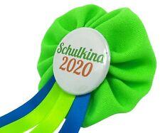 Orden Einschulung Schultüte Schulkind 2020 Anstecker Button Zuckertüte Schultag