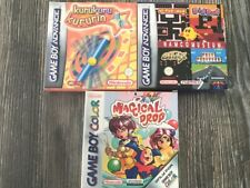 GAME BOY ADVANCE &  GAME BOY COLOUR  GAMES  BUNDLE - ALL COMPLETE