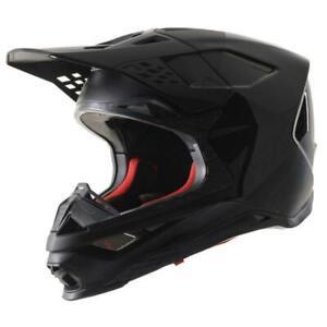 Alpinestars Supertech M8 Echo Motorcycle Helmet - Black Anthracite