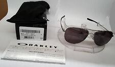 NEW Oakley ELMONT M SUNGLASSES GUNMETAL / WARM GREY OO4119-0158