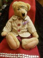 "Vintage NABCO Cornelius Vanderbear TEDDY BEAR GIBEARNY COLLECTION 1990 22"""