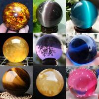 Photography Crystal Ball Sphere Decoration Natural Healing Stone Rare Quartz Lot