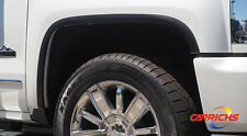 FENDER TRIM BLACK Stainless Steel FTCH806 For: SILVERADO 1500 2016-2018
