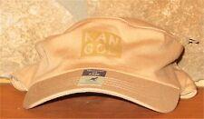 KANGOL L/XL FLEXFIT Fitted Tone Flex Military Army Cap Tan Hat Light Cotton