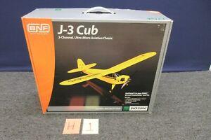 Horizon J-3 Cub BNF Parkzone 3 Channel Ultra Micro Airplane PKZ3980 RC Flyer NEW