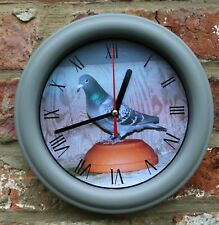 RACING HOMING PIGEON  WALL CLOCK, IDEAL GIFT