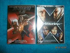 X-Men - 1.5 / X-Men 2 (DVD 2x 2-Disc Sets) Patrick Stewart, Hugh Jackman