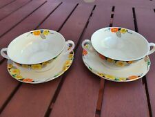 ALFRED MEAKIN ROYAL MARIGOLD RAYMOND SOUP COUP X 2