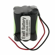 Exell 7.2V 800mAh NIMH w/Wire leads for 1:18 RC Car Racing HPI RS4 Micro Cars