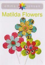 PATTERN - Matilda Flowers - fun PATTERN -  Creative Cards mini PATTERN
