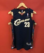 Lebron James 23 Cleveland Cavaliers Jersey Reebok Shirt Size L Made in Russia