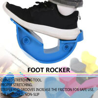 Foot Rocker Calf Ankle Stretch Board Fitness Pedals Stretchers Non-slip Bottom