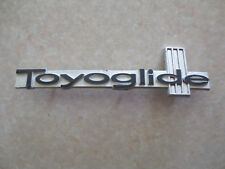 Original Toyota Toyoglide car badge