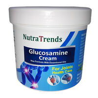 Glucosamine cream with Essential Oils for joints, bones and muscle care 250ml EU