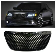 Chrysler 300C 2011 2012 2013 2014 Front Honeycomb Mesh Gloss Black Grille Grill