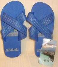 HBCali Blue Gladiador Slip on Sandals Men's Size US 12 NEW HB CALI