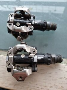 Shimano PD-M520 Pedals - silver