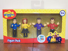 "Wiggles 3"" Action Figure 4-Pack Anthony Emma Lachy Simon Dolls Toys *New Sealed*"