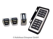 Audi A3 8V TT Edelstahl Pedalkappen Fußstütze Edelstahl Set 8V1064200A