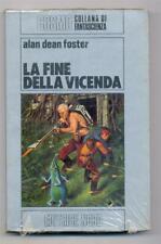 Alan Dean Foster LA FINE DELLA VICENDA Editrice Nord 1982 Cosmo Serie Argento