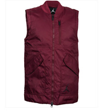 Nike Air Jordan Lifestyle Men's Vest - Size Large Night Maroon 807953 010