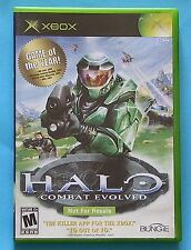 Halo: Combat Evolved (Not For Resale Version)  (Microsoft Xbox, 2001) COMPLETE!