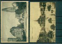 Alte Ansichtskarten Lüneburgs,  teilweise beschriftet und frankiert.