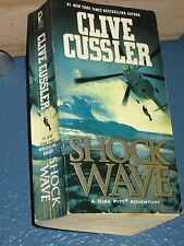 Shock Wave by Clive Cussler mystery action adventure paperback 9781416587101