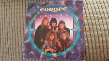 "EUROPE    CARRIE   ( 1987  7"" VINYL SINGLE )"
