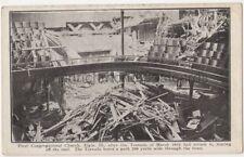 USA, First Congregational Church Elgin Ill. After Tornado Struck Postcard B767