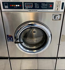 Dexter Stainless Steel Front Load Washer Coin Op 25lb Sn 20207000452543 Ref