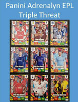 2019/20 English Premier League Soccer Cards EPL Panini - Triple Threat