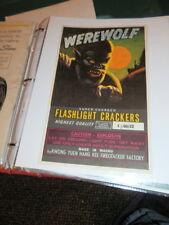 #4727,Superb Collection Vintage Firecracker Labels
