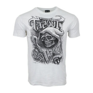 TAPOUT MENS REAPER WHITE T SHIRT