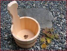 Japanese Hot Spring ONSEN MARK Fragrant Kiso Sawara Cypress Katateoke Bath Ladle