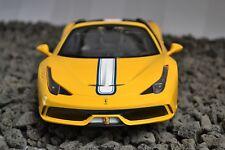 RC Ferrari 458 Speciale A amarillo 1:14 teledirigido Auto modelismo Auto Jamara