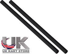 Track / Spurstange 230mm x M8 rund schwarz x 2 UK Kart Store