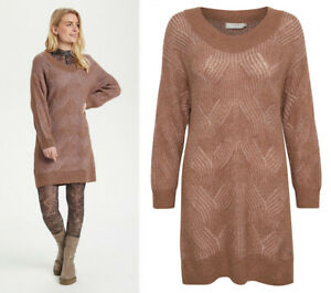 CREAM  10608794 Lange Pullover  / TOASTED ROSE / UVP €89 / HERBST 2021 38 - M(L)
