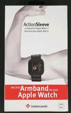 Twelve South Adjustable Sports Action Sleeve Armband For Apple Watch 38mm, Black