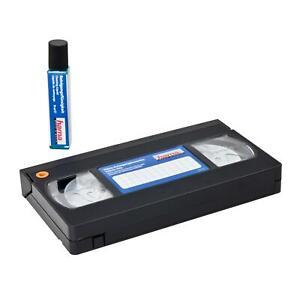Hama Videoreinigungskassette VHS S-VHS Reinigung Video Reinigungskassette