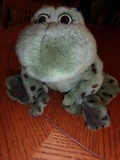 Bull Frog Jeremiah Collectible Gund Plush frog stuffed animal toy that croaks