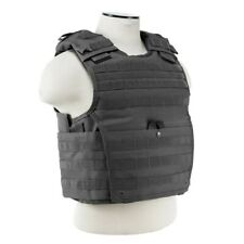NcStar VISM GRAY Tactical MOLLE Operator Plate Carrier Body Armor Chest Rig XXL